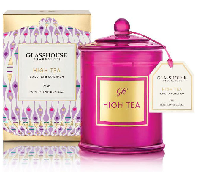 Glasshouse Limited Edition High Tea Candle