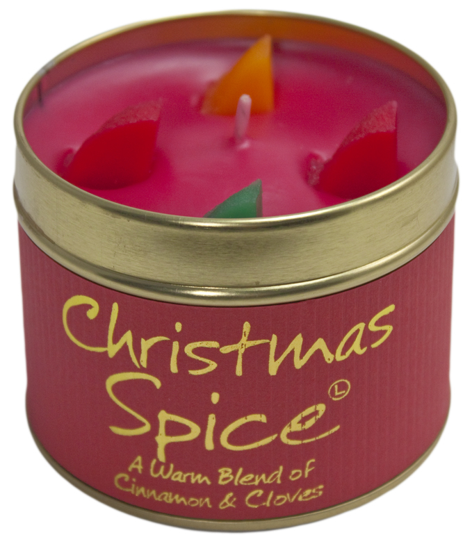 Lily Flame Christmas Spice Tin Candle Australia