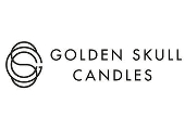 Golden Skull Candles
