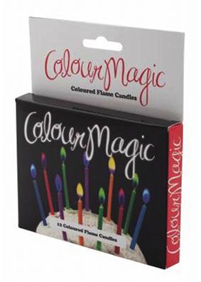 Colour Magic Birthday Candles Buy Online In Australia