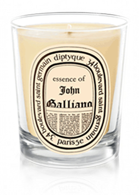 Diptyque john galliano scented candle buy diptyque for Where to buy diptyque candles