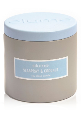 Elume Seaspray and Coconut Coastal Tin Candle