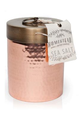 Found Goods Market Sea Salt Small Candle