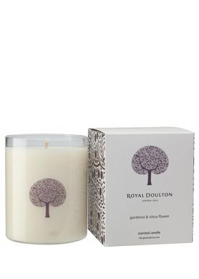 Royal Doulton Gardenia & Lotus Flower Candle