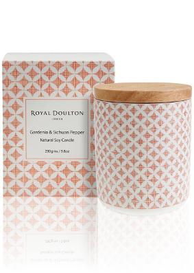 Royal Doulton Pastels Gardenia & Sichuan Pepper Candle