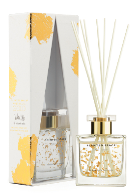 Scented Space Gold Leaf White Lily Diffuser Limited Edition