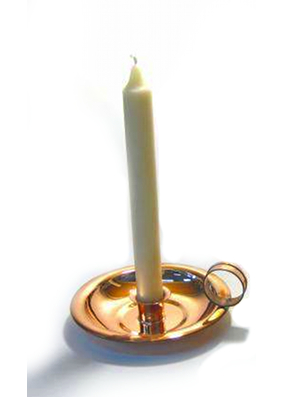 Wee Willy Winky Copper Candle Stick Holder