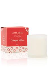 Abode Aroma Christmas Orange Clove Candle