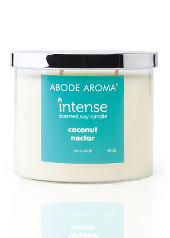 Abode Aroma Intense Coconut Nectar Candle