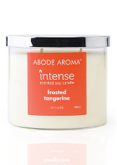 Abode Aroma Intense Frosted Tangerine Candle