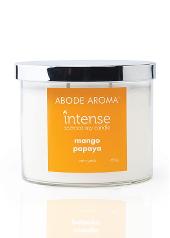 Abode Aroma Intense Mango Papaya Candle