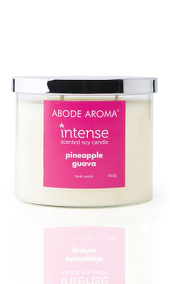 Abode Aroma Intense Pineapple Guava Candle