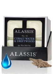 Alassis No.10 Cobalt Water and Driftwood Melts