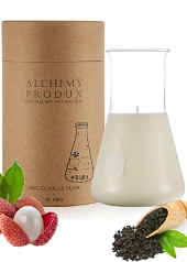 Alchemy Produx Black Tea & Lychee Conical Flask Candle
