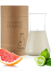 Alchemy Produx Pink Grapefruit & Bergamot Conical Flask Candle
