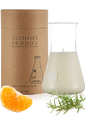 Alchemy Produx Mandarin & Rosemary Conical Flask Candle