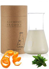 Alchemy Produx Tangerine Rind & Lemon Myrtle Conical Flask Candle