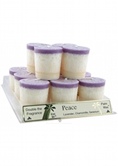 Aloha Bay Peace Votive Candle...last stock available