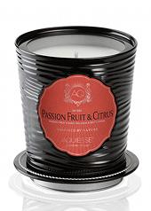 Aquiesse Passionfruit Citrus Portfolio Tin Candle