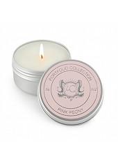 Aquiesse Pink Peony Travel Tin Candle