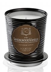 Aquiesse Sandalwood Vanille Portfolio Tin Candle