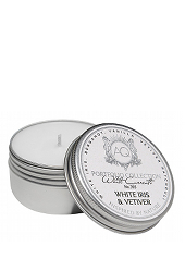 Aquiesse  White Iris & Vetiver Tin Candle ...Last Stock Available