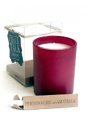 Chesapeake Bay Apple Cider Red Chalk Candle ....Last Stock Available