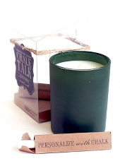 Chesapeake Bay Lemon Basil Green Chalk Candle ....Last Stock Available