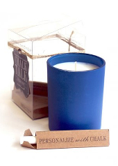 Chesapeake Bay Ocean Mist Blue Chalk Candle  ....Last Stock Available
