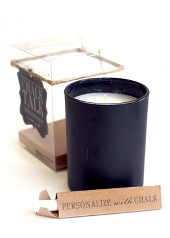 Chesapeake Bay Vanilla Blossom Black Chalk Candle ....Last Stock Available