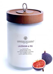 Chesapeake Bay Lavender Fig Large Candle  ....Last Stock Available