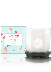 Circa Home Spiced Red Pear Christmas Candle
