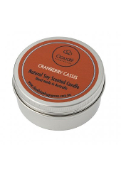 Cloud Nine Cranberry Cassis Travel Tin Candle