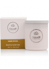 Cloud Nine Amber Woods Scented Candle