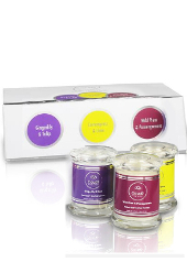 Cloud Nine Mini Trio Scented Candle Gift Set