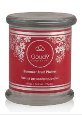 Cloud Nine Christmas Summer Fruit Platter Candle