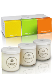 Cloud Nine Classic Fruity Scented Candle Gift Set