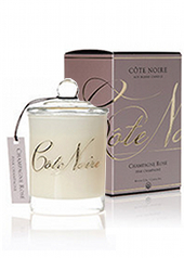 Côte Noir 225g Pink Champagne Candle...Last Stock Available