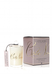 Côte Noir 80g Pink Champagne Candle...Last Stock Available