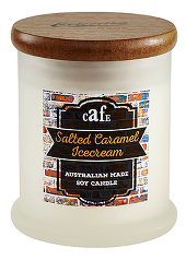 Eclectika Home Salted Caramel Ice Cream Candle