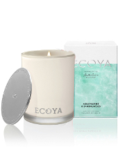 Ecoya Coastal Aquamarine & Sandalwood Limited Edition Madison Jar Candle