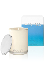 Ecoya Blue Cypress and Amber Madison Jar Candle