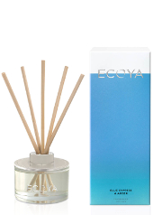 Ecoya Blue Cypress and Amber Mini Reed Diffuser