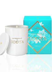 Ecoya Botanicals Coral & Narcissus Candle  ...With Free Gift Valued $17.95