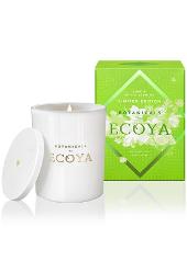 Ecoya Lime and White Jasmine Limited Edition Botanical Jar Candle