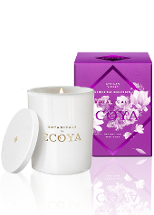 Ecoya African Violet Limited Edition Botanical Jar Candle