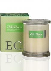 Ecoya Botanicals Palm Leaf & Tiare Flower Candle - With FREE Travel Tin Valued $14.95