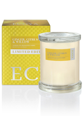 Ecoya Ginger, Citrus and Willow Limited Edition Botanical Jar Candle