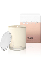 Ecoya Cedarwood & Leather Madison Jar Candle