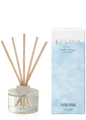 Ecoya Salted Coconut & White Jasmine Limited Edition Mini Reed Diffuser  ....Last Stock Available